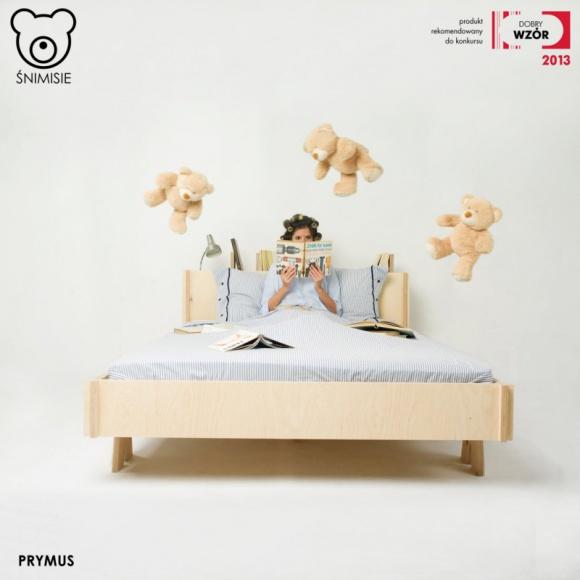 Nowe oblicze łóżek Śnimisie Przemysł, BIZNES - Prezentacja łóżka Prymus w białym kolorze na ogólnopolskich targach.