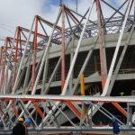Konstrukcja białostockiego stadionu na finiszu
