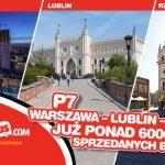 Ogromne zainteresowanie nową linią P7 Warszawa – Lublin – Rzeszów