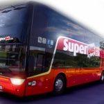 Komfortowe podróże w najniższych cenach – teraz również w Estonii. SuperBus.com