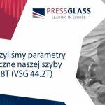 PRESS GLASS z coraz lepszymi wynikami akustycznymi