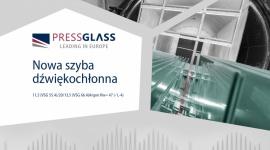 Nowa szyba dźwiękochłonna PRESS GLASS Przemysł, BIZNES - Firma PRESS GLASS, specjalizująca się w produkcji szyb dla budownictwa, kolejny raz rozszerzyła katalog oferowanych przez siebie zespolonych szyb dźwiękochłonnych. Aktualnie producent oferuje już 77 różnych typów szyb akustycznych.