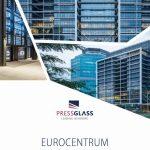 Nowoczesny kompleks biurowy z szybami PRESS GLASS