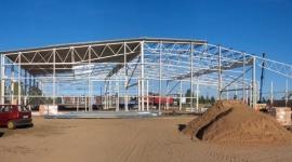 Promotech KM zmienia siedzibę. I będzie kupował maszyny BIZNES, Gospodarka - Łapski Promotech kończy montaż konstrukcji nowej hali produkcyjnej i budowę biurowca. Na początku przyszłego roku spółka przeniesie się do nowej siedziby.