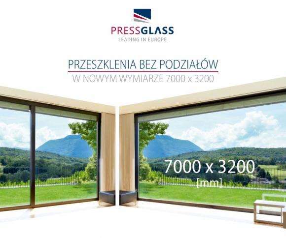 Szyby PRESS GLASS w nowym wymiarze Przemysł, BIZNES - Firma PRESS GLASS, która specjalizuje się w produkcji szyb dla budownictwa, rozszerzyła ofertę o szyby w większych rozmiarach.