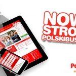 Nowa strona internetowa PolskiBus.com