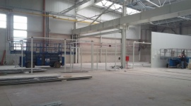 Promotech KM inwestuje w nowy zakład i maszyny BIZNES, Gospodarka - Łapski Promotech KM kończy budowę nowego zakładu. Przeprowadzka planowana jest na lipiec, zaraz potem ruszą inwestycje w park maszynowy.