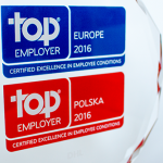 Certyfikat Top Employer Europe 2016 dla DHL Express (Poland)