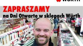 Ruszają dni otwarte w sklepach Würth Polska Przemysł, BIZNES - Koncern organizuje kolejną serię dni otwartych w sklepach rozmieszczonych na terenie całej Polski.