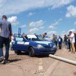 Alumast – crash testy kompozytowych słupów