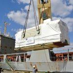 Transport generatora o wadze 165 ton