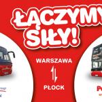 PolskiBus.com i Mobilis Group łączą siły na trasie Warszawa – Płock!