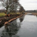 Remont uszkodzonych brzegów na Kanale Górnonoteckim