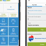 W aplikacji SkyCash można już kupować bilety WKD