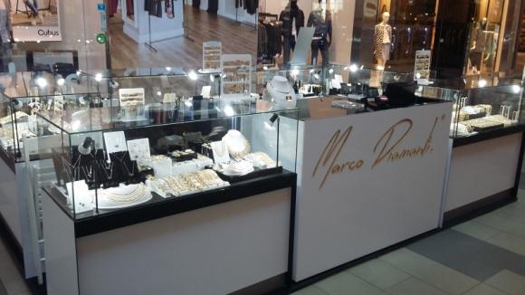 Nowa marka w Porcie Łódź BIZNES, Gospodarka - Marco Diamanti – włoska marka jubilerska znalazła się w gronie najemców łódzkiego centrum należącego do IKEA Centres Polska.