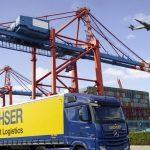 Rzeczywisty i wirtualny Dachser na targach transport logistic