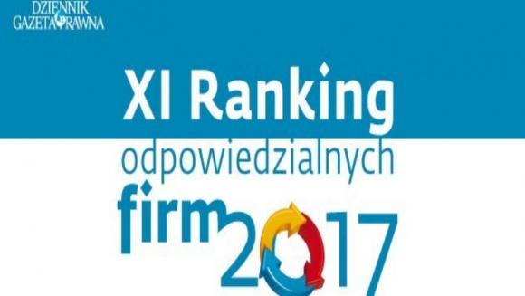 CEMEX Polska w Rankingu Odpowiedzialnych Firm 2017 BIZNES, Gospodarka - CEMEX Polska trafił do grona firm wyróżniających się na tle społecznej odpowiedzialności biznesu, plasując się w klasyfikacji platynowej.