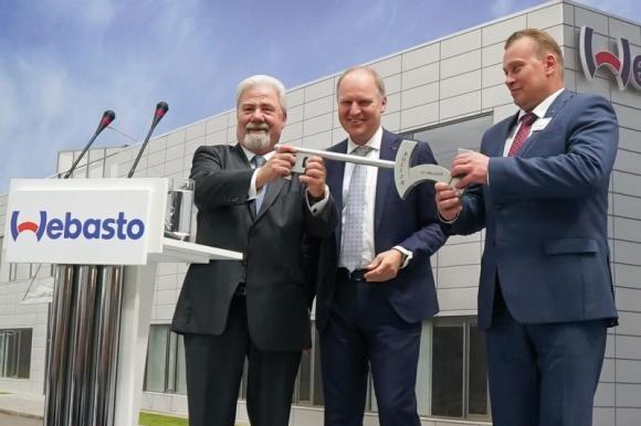 Webasto otwiera w Rosji nową siedzibę BIZNES, Gospodarka - Dostawca motoryzacyjny rozszerza swoje możliwości na strategicznym rynku