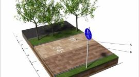 KOMFORTOWA ŚCIEŻKA ROWEROWA Z KOSTKI BRUKOWEJ BIZNES, Infrastruktura - Zasady projektowania i wykonywania ścieżek rowerowych z kostki brukowej.