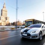 Pierwsza Tesla iTaxi na polskich drogach. Dokąd zmierza firma?