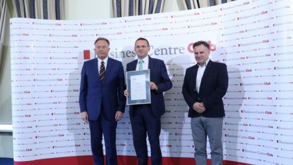 CEMEX - firma Dobrze Widziana BIZNES, Gospodarka - CEMEX Polska został nagrodzony tytułem Firma Dobrze Widziana w IX edycji konkursu organizowanego przez Business Centre Club