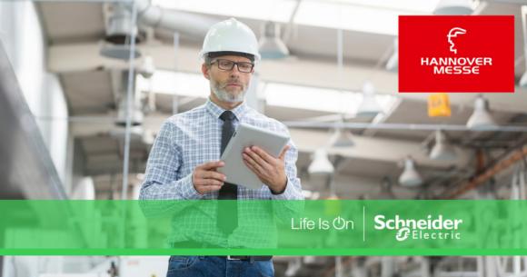 Schneider Electric prezentuje nowe rozwiązania dla przemysłu Przemysł, BIZNES - Schneider Electric prezentuje nowe rozwiązania dla przemysłu na targach Hannover Messe.