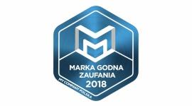 DHL Marką Godną Zaufania 2018 Transport, BIZNES - DHL po raz kolejny zostało wyróżnione tytułem Marki Godnej Zaufania.