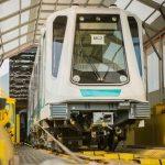 Pierwszy pojazd metra w drodze do Sofii