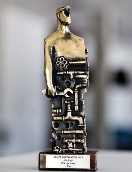 System kominowy MK Power ze Złotym Instalatorem dla Najlepszych Przemysł, BIZNES - Branża kominowa po raz kolejny nagrodziła innowacyjność marki MK Systemy Kominowe.