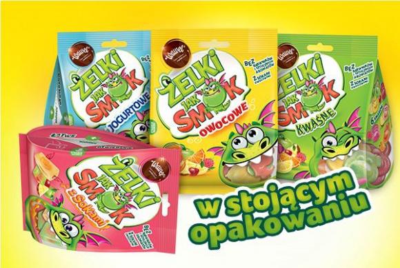 Żelki jak SMOK Wawel – owocowa nowość od marki Wawel BIZNES, Gospodarka - Żelki jak SMOK Wawel – owocowa nowość od marki Wawel