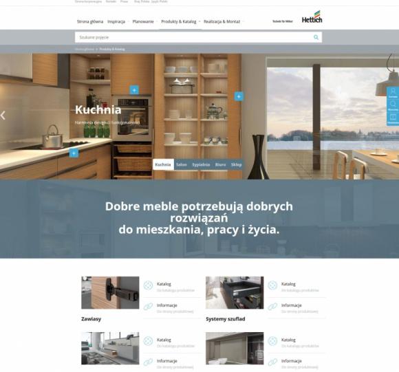 Więcej inspiracji i usług Przemysł, BIZNES - Nowa strona internetowa Hettich, zaprojektowana zgodnie z oczekiwaniami klientów, ma pomóc użytkownikom sprostać wyzwaniom, które napotykają w codziennej pracy.