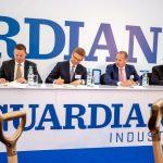 Kluczowy etap budowy zakładu produkcyjnego Guardian Glass w Częstochowie