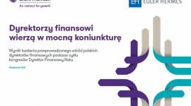 Dyrektorzy finansowi wierzą w mocną koniunkturę biznesu BIZNES, Gospodarka - Ostatni rok był dobry dla działających w Polsce firm. Według badania przeprowadzonego wśród CFO, są oni zadowoleni z kondycji swoich przedsiębiorstw i optymistycznie oceniają perspektywy dla ich działalności.