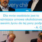 ABC – Czepczyński nowym Partnerem UNICEF Polska