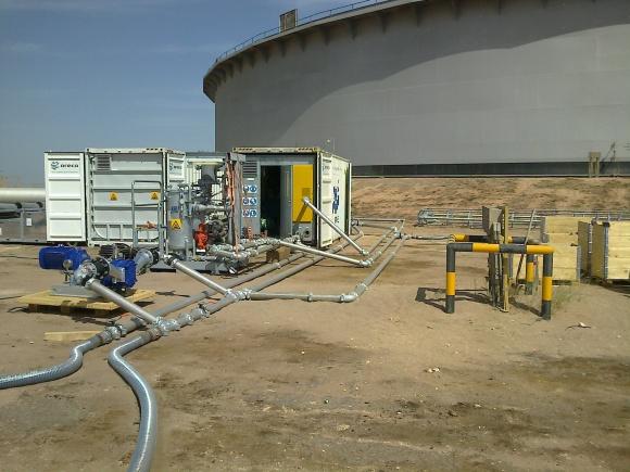 Czyszczenie zbiorników naftowych będzie bardziej przyjazne środowisku Przemysł, BIZNES - Ograniczenie ilości emitowanych szkodliwych gazów w procesie automatycznego czyszczenia zbiorników naftowych, to planowany efekt realizacji projektu badawczo-rozwojowego spółki Climbex S.A. specjalizującej się w usługach dla przemysłu.