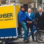 Elektryczne rowery Dachser w coraz większej liczbie miast