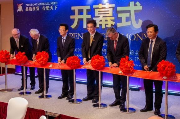 Międzynarodowe targi markowych produktów z prowincji Zhejiang BIZNES, Gospodarka - Kolejna edycja targów Zhejiang International Trade Exhibition Poland odbyła się podczas Targów ŚWIATŁO 2019 w Warszawie, w dn. 13-15 marca br.