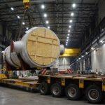 Fracht FWO Polska dostarcza 129-tonowe urządzenia na budowę bloku energetycznego