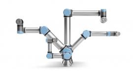 Universal Robots wprowadza na rynek cobota UR16e o dużym udźwigu Przemysł, BIZNES - UR16e to nowe rozwiązanie w obszarze robotyki współpracującej, które daje producentom możliwość realizowania procesów wymagających obsługi ciężkich elementów oraz przyśpiesza samą automatyzację.