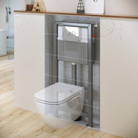 Stelaże podtynkowe AQUA od Cersanit – rozwiązanie do każdej łazienki BIZNES, Infrastruktura - Kiedy decydujemy się na remont naszej łazienki, pragniemy samych najlepszych rozwiązań – zarówno pod względem wizualnym, jak i technologicznym.