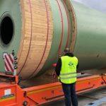 Rzekami, morzem i drogą - Fracht FWO Polska dostarcza młyny przemysłowe