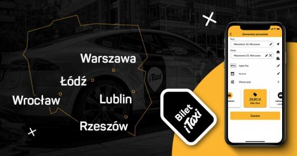 Bilet iTaxi dostępny we Wrocławiu, Lublinie, Łodzi i Rzeszowie BIZNES, Infrastruktura - iTaxi, czołowy dostawca usług taksówkowych, udostępnia w kolejnych miastach przełomowy Bilet iTaxi.