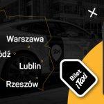 Bilet iTaxi dostępny we Wrocławiu, Lublinie, Łodzi i Rzeszowie