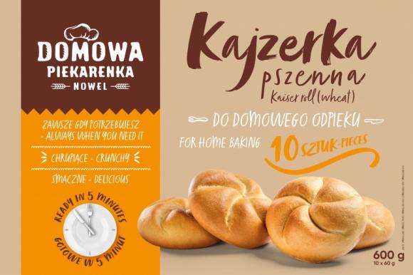"""Domowa Piekarenka – NOWEL wprowadza pieczywo do domowego wypieku! BIZNES, Gospodarka - NOWEL, rodzinna piekarnia specjalizująca się w produkcji pieczywa do dopieku, wprowadza na rynek nową markę. """"Domowa Piekarenka"""" to bezpiecznie zapakowane pieczywo, które każdy będzie mógł wypiec w domowym piekarniku."""