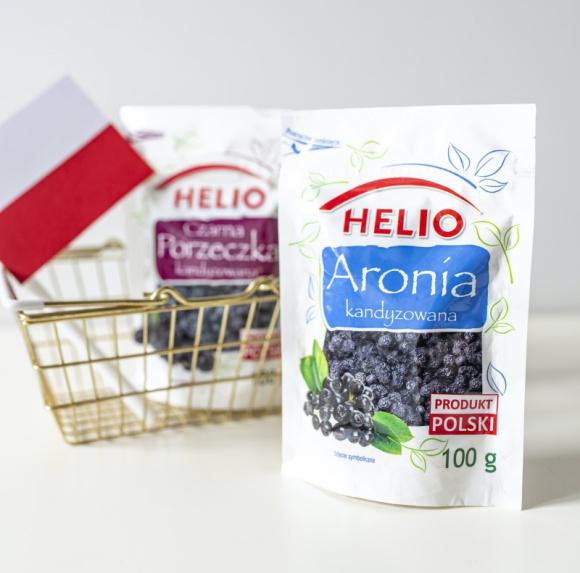 HELIO made in Poland BIZNES, Gospodarka - Czy wybierając produkty zwracasz uwagę, kto jest producentem? Czy wiesz, że kupując polskie produkty rodzimej marki HELIO, zapewniasz miejsca pracy nie tylko pracownikom bakaliowego potentata...