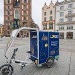 Szybka Paczka GLS teraz w Krakowie. W Polsce zadebiutował też rower kurierski