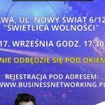 Spotkanie biznesowe 17. września 2020 w Warszawie