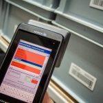 Etykiety RFID w pojemnikach wielokrotnego użytku w sektorze przemysłowym.