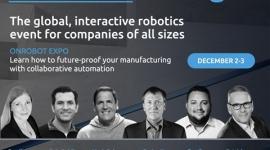 OnRobot Expo poświęcone automatyzacji współpracującej Przemysł, BIZNES - OnRobot Expo poświęcone automatyzacji współpracującej – światowej skali wydarzenie z udziałem producentów, specjalistów i liderów branży