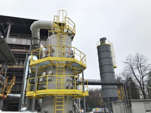 Tokai COBEX Polska stawia na czyste powietrze. Przemysł, BIZNES - W Nowym Sączu, na terenie przedsiębiorstwa powstaje nowoczesna Instalacja Oczyszczania Gazów z procesu kalcynacji. Wartość inwestycji wynosi 4,7 mln zł.